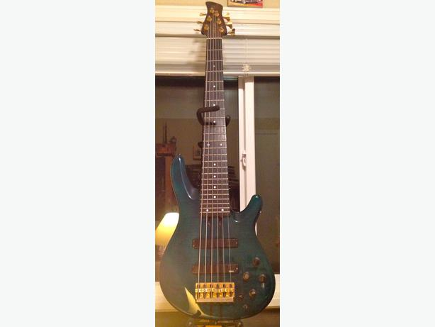 Yamaha trb 6p s 6 string bass first one out of the for Yamaha 6 string bass
