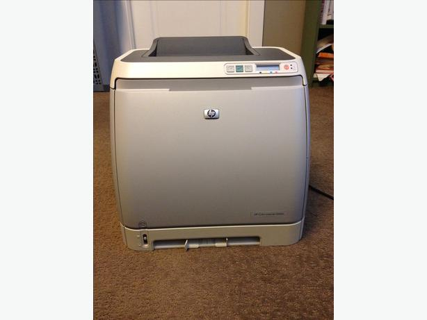 hp color laserjet 2600n color workgroup laser printer west shore langford colwood metchosin. Black Bedroom Furniture Sets. Home Design Ideas
