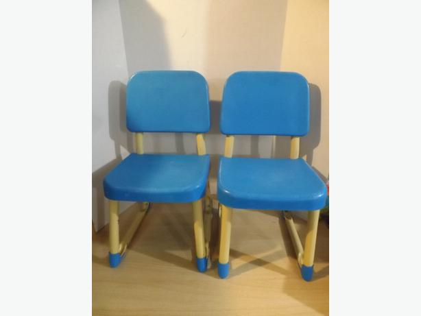 2 Fisher Price Vintage Metal Commercial Grade Preschool Chairs Ages 2 5 Outsi