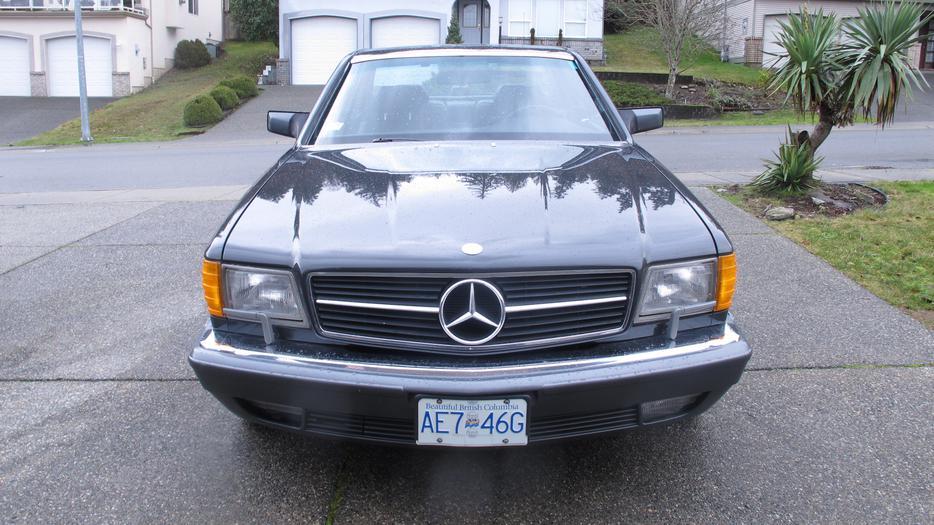 1991 mercedes benz 560 sec north nanaimo nanaimo for Mercedes benz nanaimo