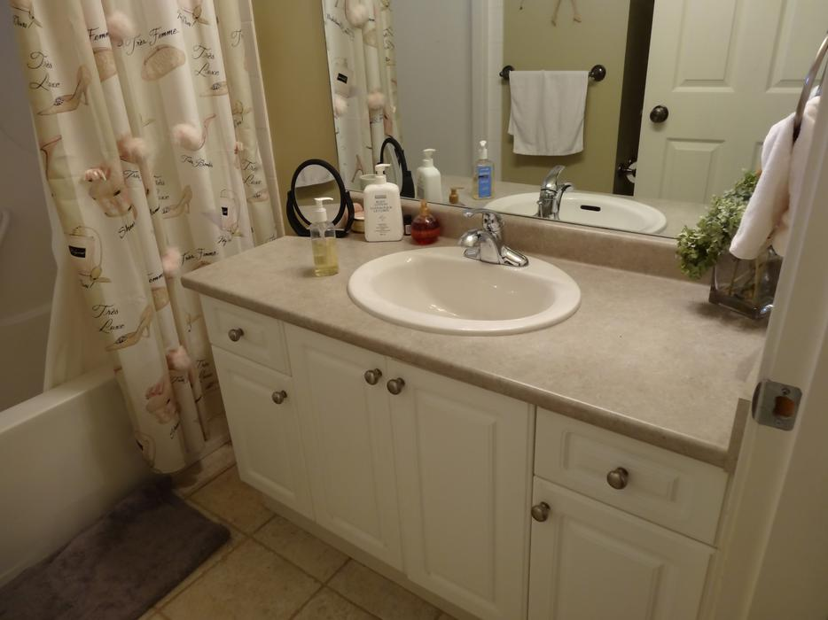 laminate countertops kitchen and bathroom sink saanich