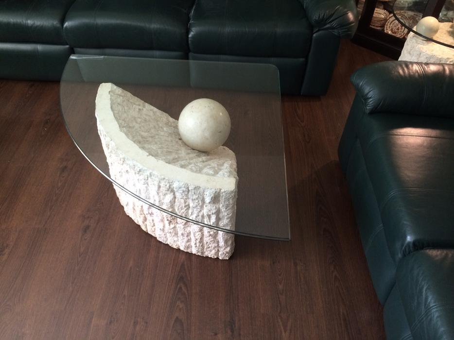 Fossil Stone Coffee Table Set North Regina Regina