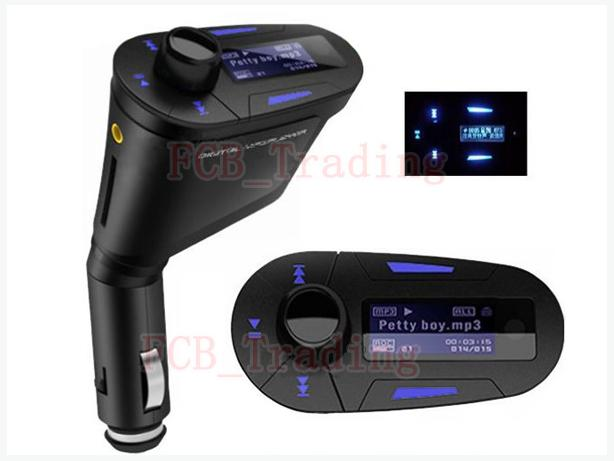 Brand New LCD Wireless FM Transmitter MP3 Player With Remote