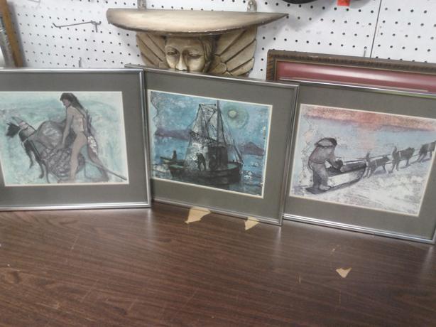 3 Prints by K. May