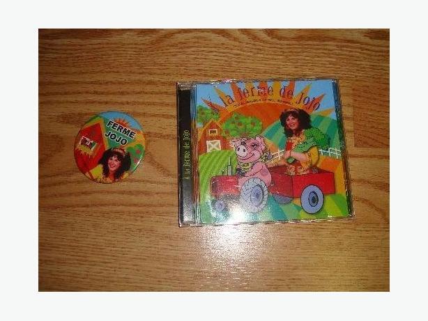 Brand New A la ferme de Jojo CD and Matching Pin - $4!