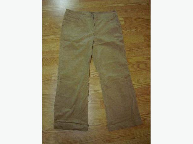 Brand New Cleo Size 14 Beige Cords Pants - Excellent Condition! $10