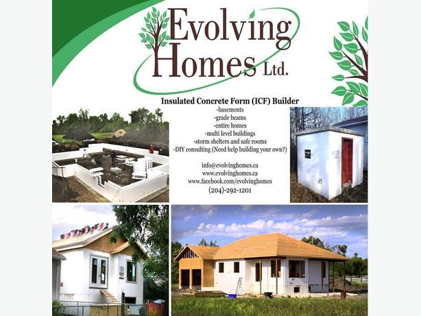 ICF (Insulated Concrete Form) builder