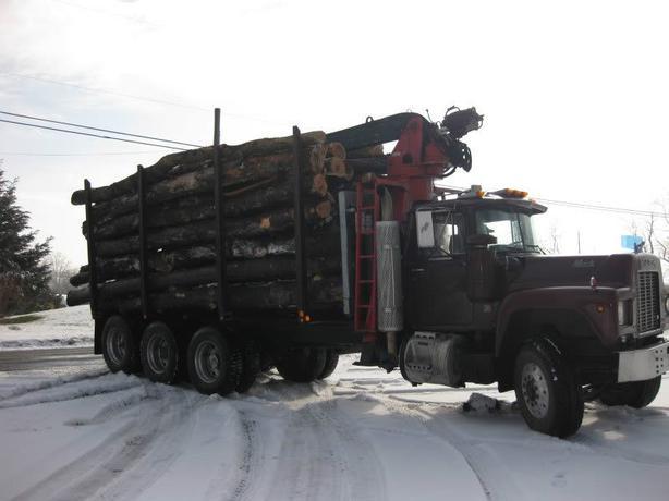 Wanted seasoned tandem load of hardwood logs needed