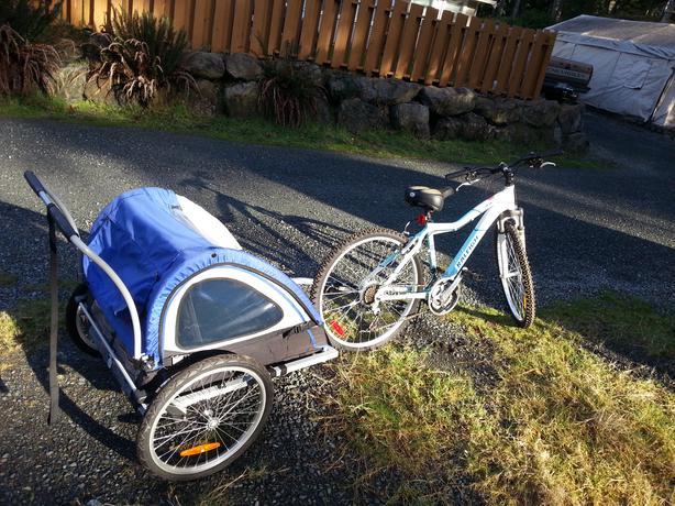 Schwinn Two Seat Bike Trailer Sooke Victoria