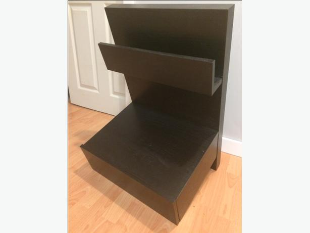 Ikea malm floating nightstand west shore langford colwood metchosin highlands victoria - Ikea bed frame with attached nightstand ...