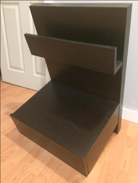 Ikea malm floating nightstand west shore langford colwood - Mobile malm ikea ...