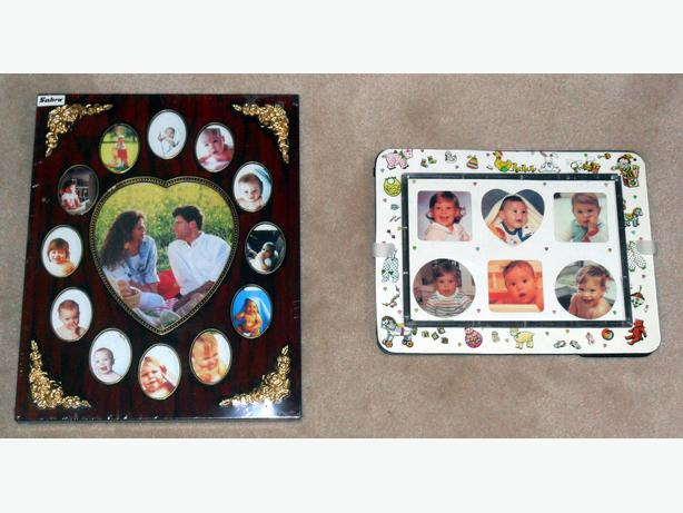 5 New or Good Condition Collage-Type Photo Frames