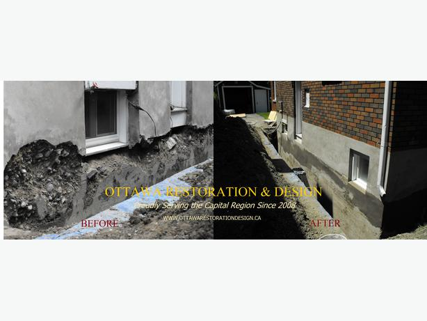 Licensed Waterproofing & Foundation Services