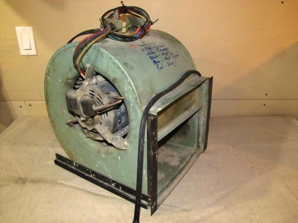 Large squirrel cage furnace ventilation fan saanich victoria for Lubricate furnace blower motor