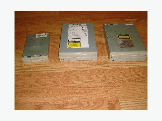 CD Drives and Floppy Drive - Excellent Condition - Prices indicated