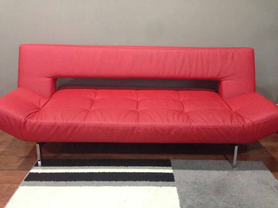 modern red leather futon sofa great deal central saanich victoria red leather futon   furniture shop  rh   ekonomikmobilyacarsisi