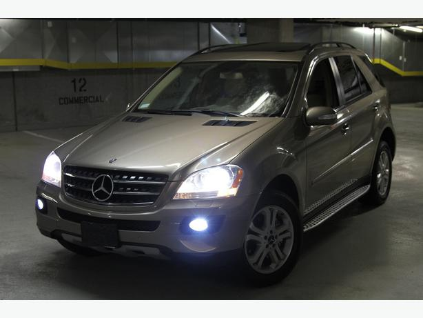 2008 mercedes benz ml 320 cdi 4matic diesel awd navigation. Black Bedroom Furniture Sets. Home Design Ideas