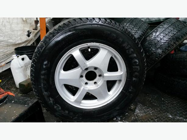 4x 17 Firestone Transforce At Tires Rims Esquimalt