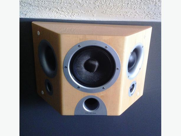 wharfedale opus 2 tri surround speakers esquimalt view royal victoria. Black Bedroom Furniture Sets. Home Design Ideas