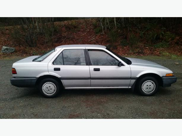 1987 Honda Accord Lx Quick Sale Outside Comox Valley