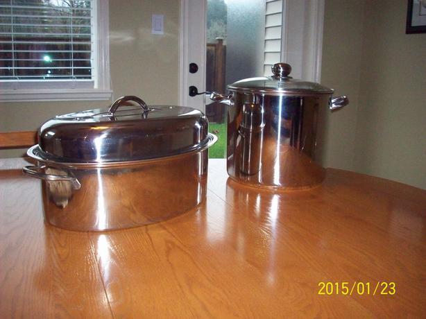 how to clean stainless steel pots outside