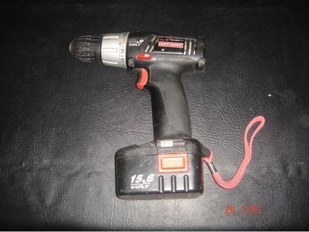 Craftsman 15.6V Cordless Drill