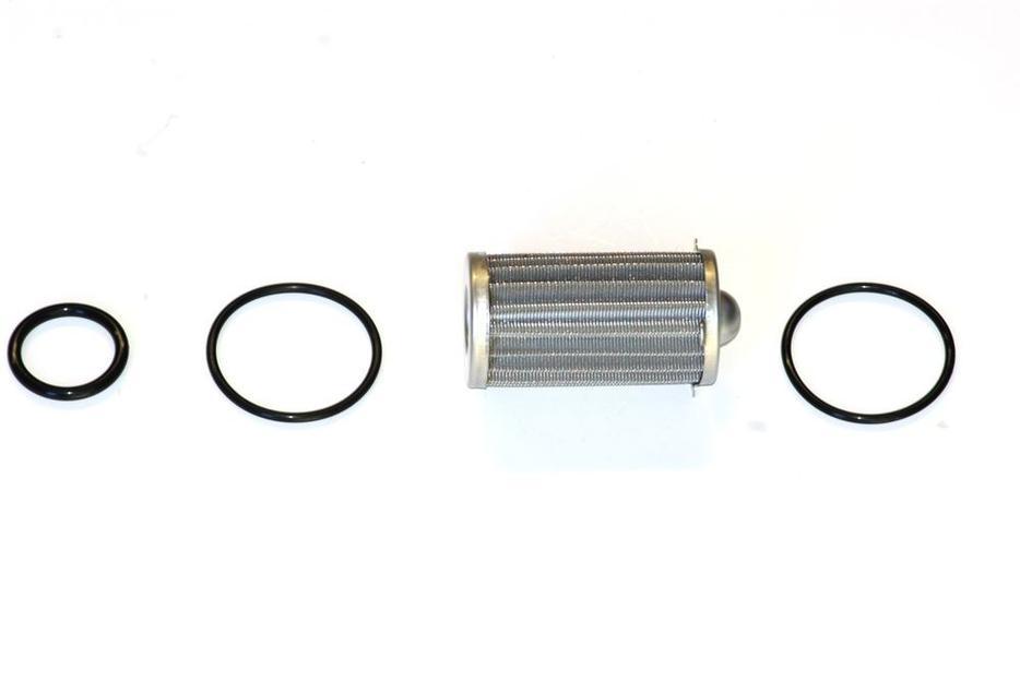 holley 175 gph billet fuel filter  outlet