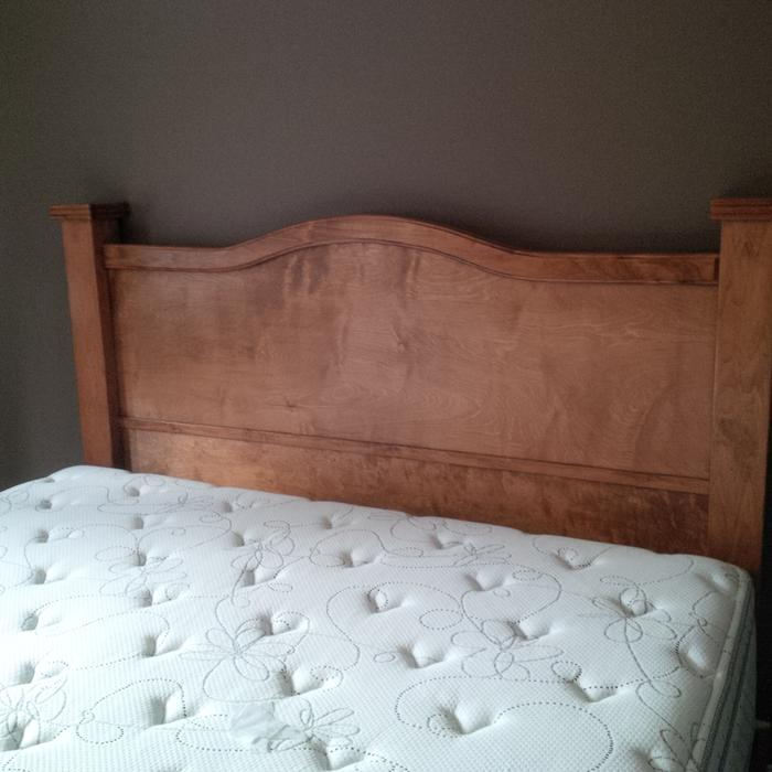 King Size Bed And Headboard Surrey Incl White Rock