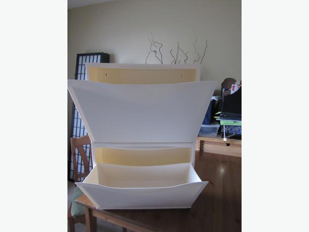 ON HOLD TIL JAN 27 PM***IKEA Trones Shoe Storage Cabinet White ...