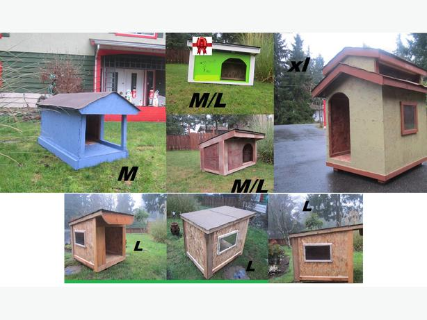 Build To Suit Dog Houses Cedar Parksville Qualicum Beach