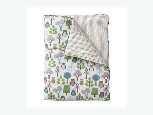 dwell studio owl crib bedding west shore langford colwood