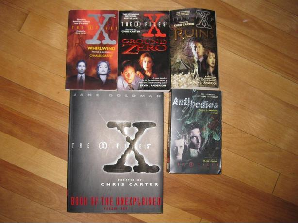 The 'X' Files book series