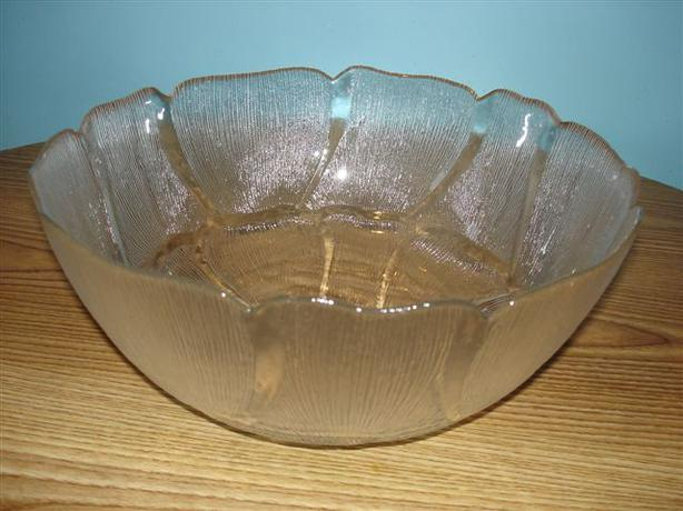 "VINTAGE ARCOROC Fleur Large 12"" Punch Bowl 5 Quarts, MADE IN FRANCE"