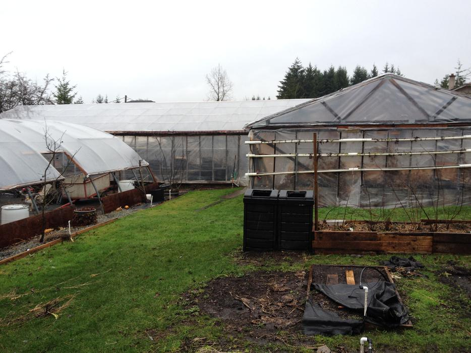 Greenhouse Roof Trusses Central Saanich Victoria