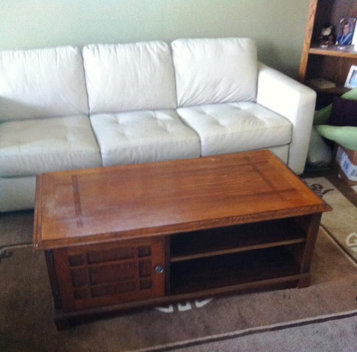 Wood Coffee Table With Inlay Shaker Style Victoria City Victoria