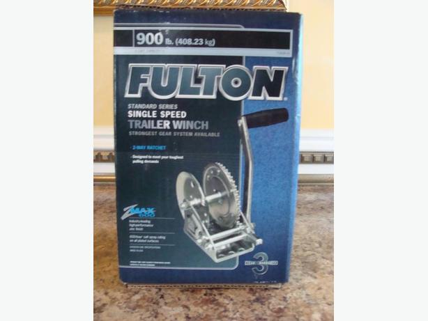 Fulton 900 lb Trailer Winch