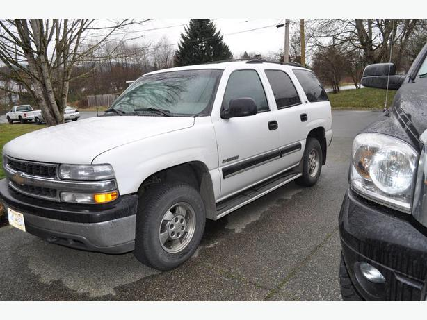2000 chevrolet tahoe ls 4x4 v8 5 3 litre vortex engine south nanaimo parksville qualicum beach. Black Bedroom Furniture Sets. Home Design Ideas