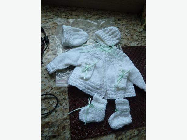 NEW Preemie Sweater set