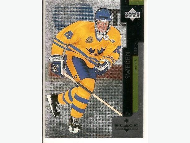 Complete set of 1997-98 Black Diamond Hockey Cards