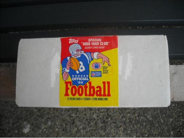 1989 TOPPS NFL FOOTBALL SET