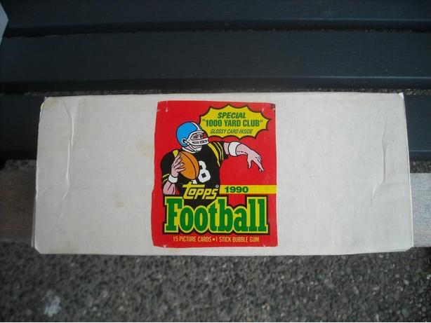 1990 TOPPS NFL FOOTBALL SET