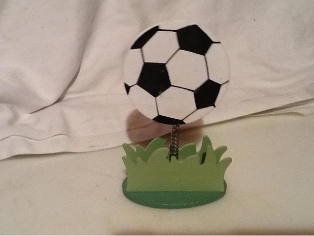 Soccer Ball Photo Clip / Stand