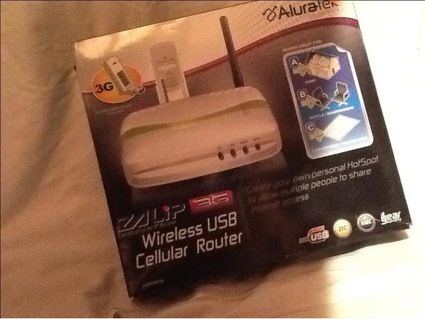 Aluratec 3G Wireless USB Cellular Router