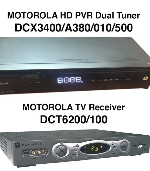 Motorola satellite receiver hook up