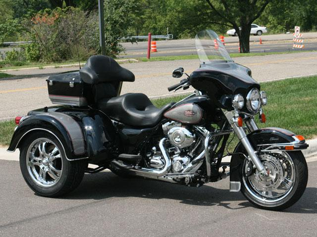 Harley Davidson Red Deer >> Harley-Davidson FLH Trike Conversion Outside Victoria, Victoria