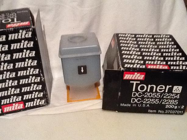 New 3 pack of Mita Toner DC-2055 / 2254 / 2285