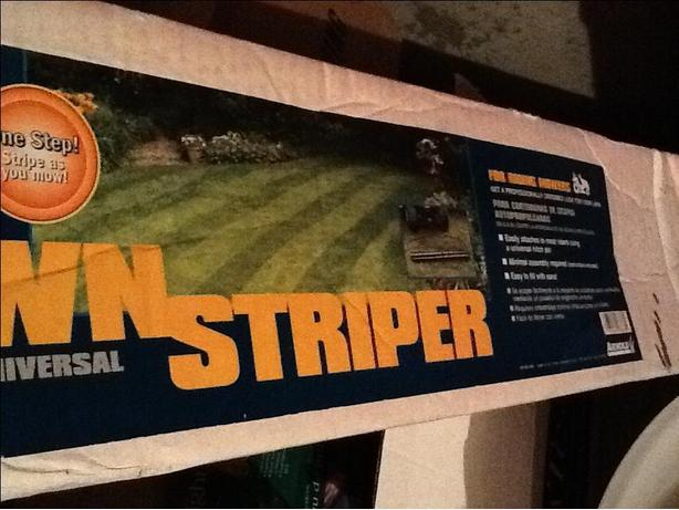 Professional Lawn Striper for ride on mower - new in box