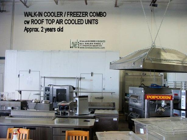 Walk in coolers freezers combo plus huge assortment for Equipement resto plus