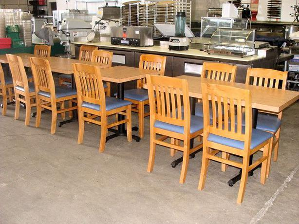 Chairs tables bar stools restaurant equipment auction