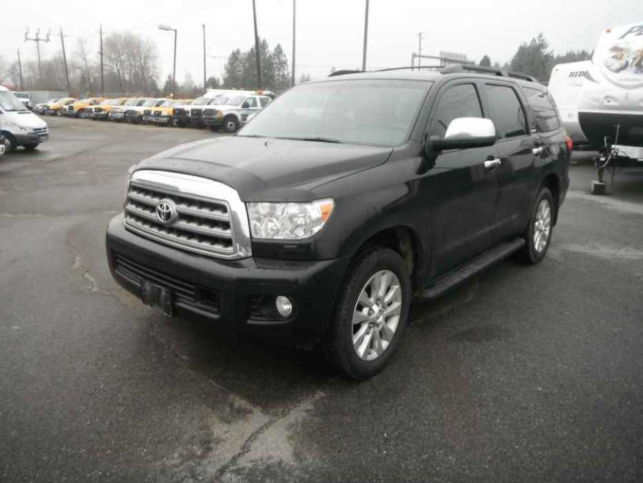 2012 toyota sequoia outside comox valley courtenay comox. Black Bedroom Furniture Sets. Home Design Ideas